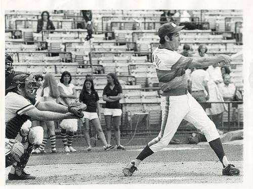 Haven't seen a wrist-roller like that since Johnny Bench!