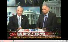 Ron Paul and Ralph Nader sit next to each other on TV