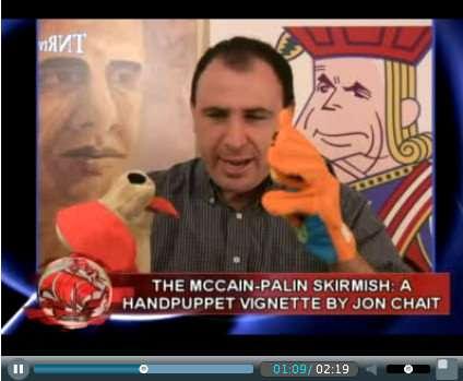 I hear Adam Moss likes puppets
