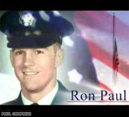 How many GOP candidates have more military service than RP?