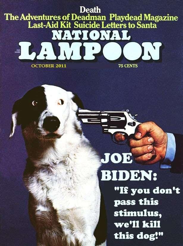 Thankfully, Biden doesn't have any bullets left