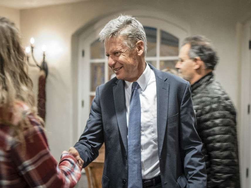 Gary Johnson ||| Roberto E. Rosales/ZUMA Press/Newscom