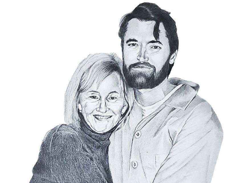 Lyn and Ross Ulbricht ||| iDesigner/Fiverr