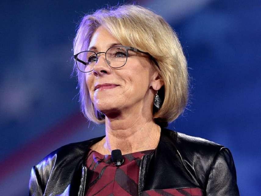 What Betsy Devos Calls Education >> Education Secretary Betsy Devos Did Not Say Schools Should Call Ice