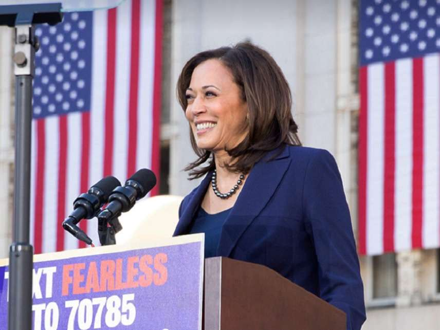 Kamala Harris Got So High Smoking Weed in College She Thought She
