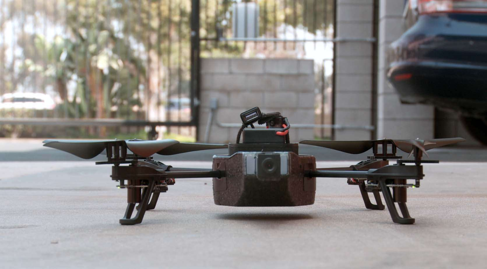 Drone like this one are becoming cheaper and more available to civilians.
