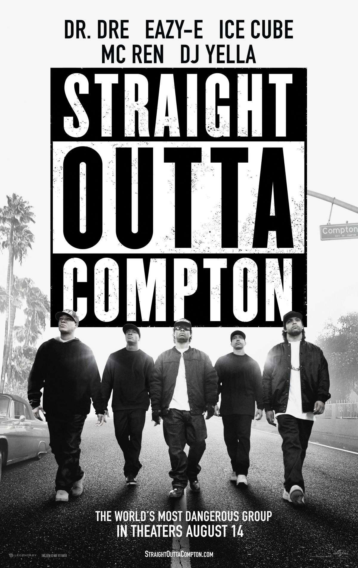 ||| Straight Outta Compton Poster