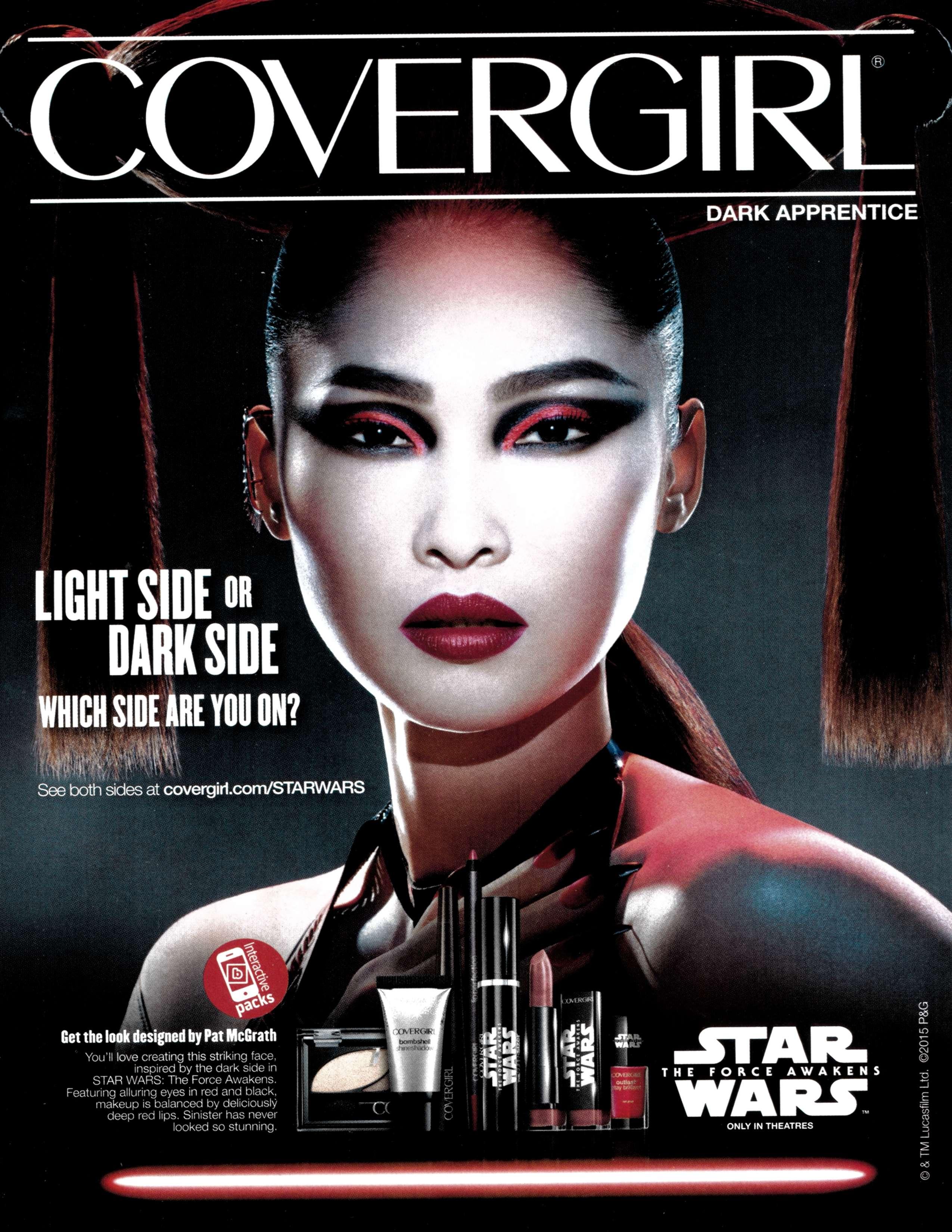 CoverGirl sells Star Wars makeup.