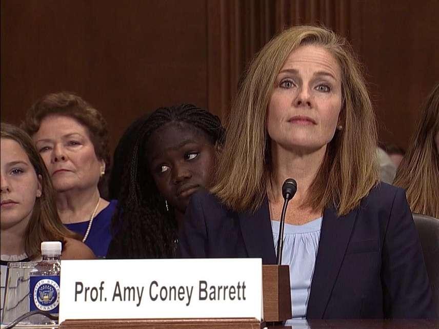 SCOTUS Shortlister Amy Coney Barrett on Overturning Precedent and