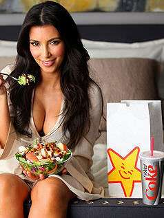 Kim Kardashian has a special thing for chicken salads.