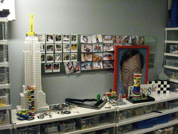 At Google, you can have all the Legos you want.