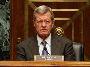 Super frowny Baucus is super frowny.
