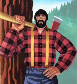 I'm a legislative lumberjack, and I'm OK.