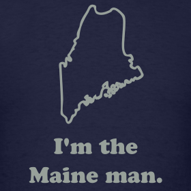 The rain in Maine falls mainly on the plain.