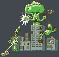 A dark preview of the coming broccoli wars.