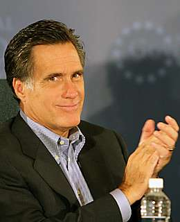 Mitt Romney would like to give himself a round of applause.