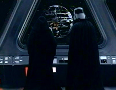 Don't worry, Darth, we won't let them cut the Death Star budget.