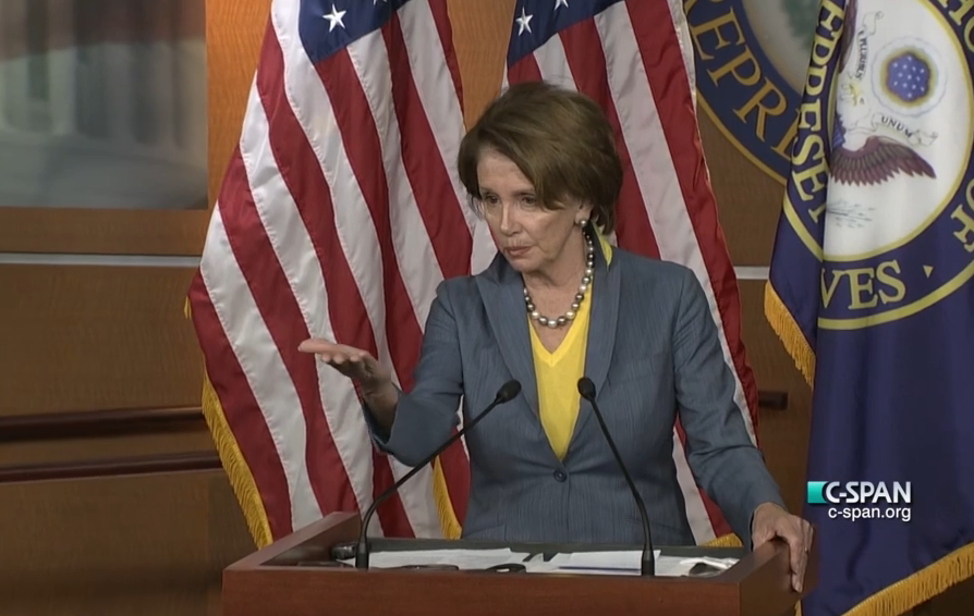 Nancy Pelosi Says She Doesn't Know Who Jonathan Gruber Is