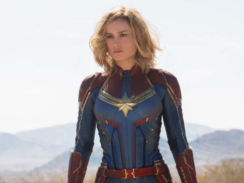 Captain Marvel Is A Message Movie Without A Message Reasoncom