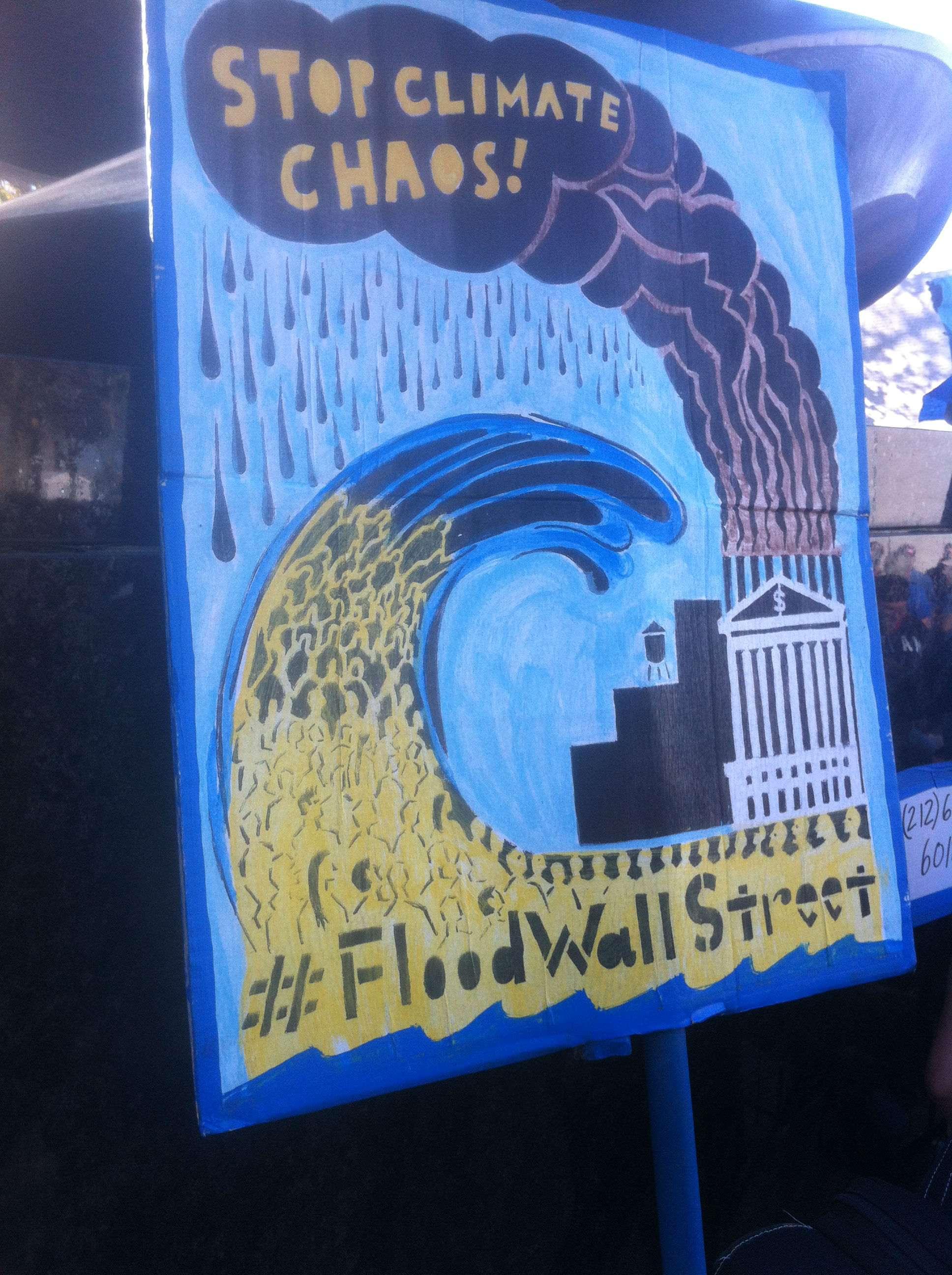 Flood poster