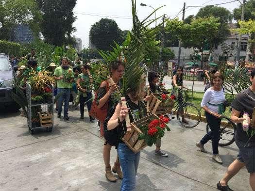 Peru Demonstration