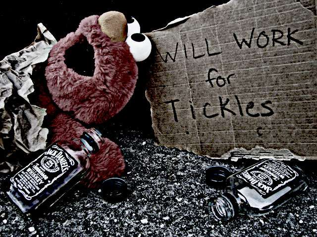 Elmo will work for tickles