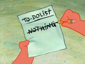 do-nothing list