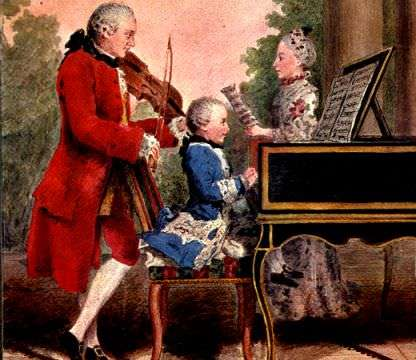 Leopold Mozart, the Murray Wilson of his time.