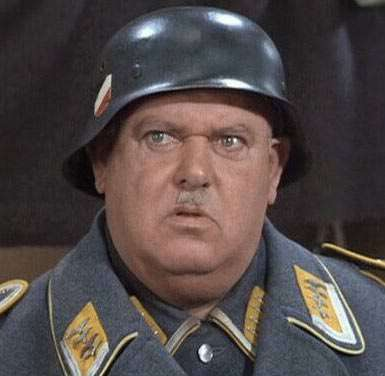 Sgt. Schultz sees nothing.