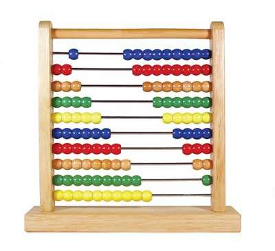 The abacus, in case you don't know what a slide rule is for.