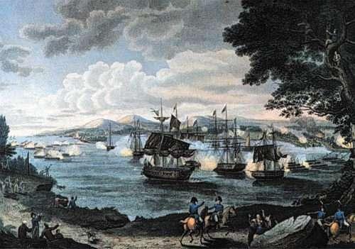 The Battle of Plattsburgh rocked slender Lake Champlaign on September 11 1813.