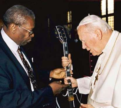 That's the original Lucille but the second Pope John Paul.