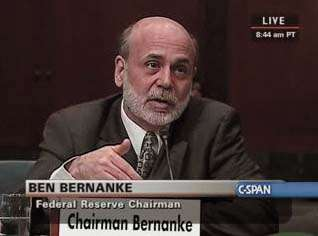 Ben Bernanke smells like a man should.