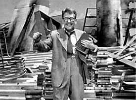 Picture if you will Mr. Henry Bemis in a world where books need electricity.