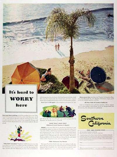 The California Dream in 1941.
