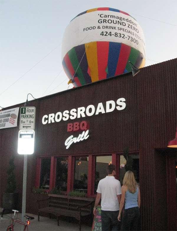 Carmageddon: Ground Zero Crossroads Cafe July 11 2011.