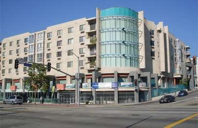 You can see how opening a Wal-Mart on that first floor would destroy L.A. as we know it.