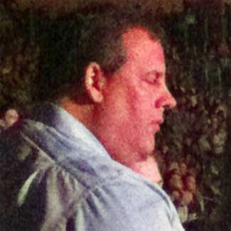 I kind of pictured Chris Christie as an open-piehole sleeper.