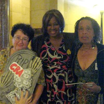 Valarie Stewart (right) goes unheard by the government of Los Angeles.