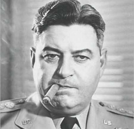 In addition to being a founding general staffer of the independent U.S. Air Force, Gen. Curtis LeMay (seen here with a then-legal cigar) helped found the RAND Corporation.