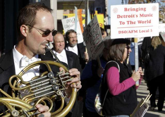 Workers unite to play music written to flatter absolute monarchs.