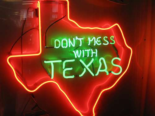See to it that no messing with shall be initiated by you with regard to Texas.