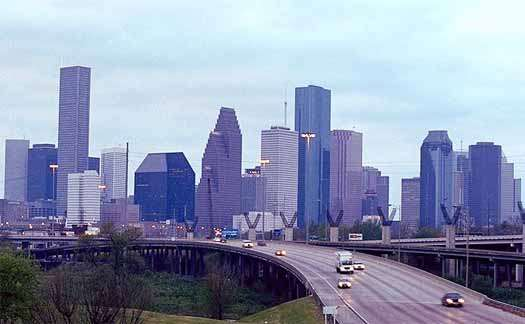 Houston: All the buildings, half the zoning.