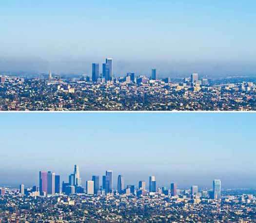 Does anybody who doesn't live in L.A. consider this skyline in any way iconic or distinctive?