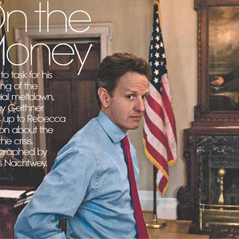 Geithner: Couldn't you just kiss him?