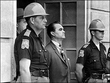 Gov. George Wallace was a big meanie.