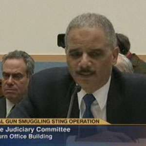 What Eric Holder looks like when he's not remembering something.