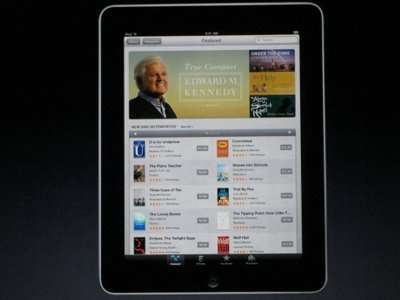 If you've got the iPad but you're still reading Ted Kennedy's book, have you really won?