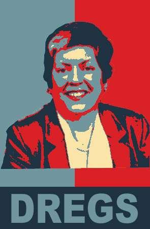 Janet Napolitano: Dregs.