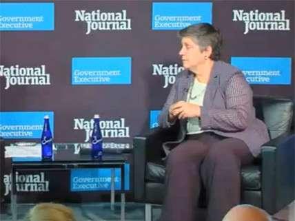 Janet Napolitano barely staying awake.